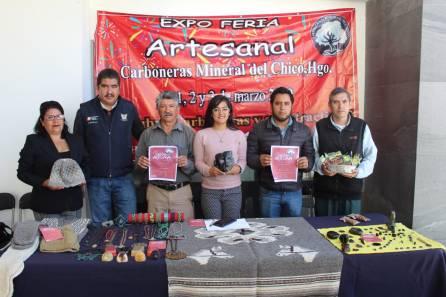Preparan 1a Expo Artesanal en Carboneras, Mineral del Chico