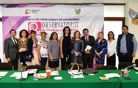 Presidenta del IEEH presidirá el Observatorio Político de las Mujeres en Hidalgo2