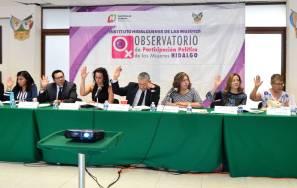 Presidenta del IEEH presidirá el Observatorio Político de las Mujeres en Hidalgo3