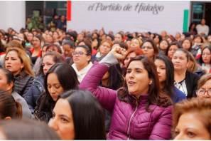 PRI Hidalgo da inicio a la segunda generación de la Escuela Nacional de Mujeres Priistas