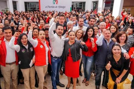 PRI Hidalgo da inicio a la segunda generación de la Escuela Nacional de Mujeres Priistas3