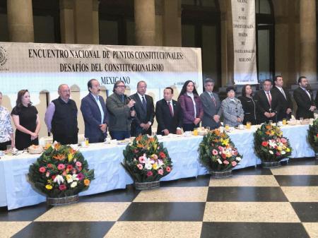Primer Encuentro Nacional de Comisión de Puntos Constitucionales