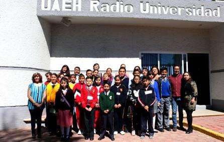 Radio Universidad abre sus puertas a niños4