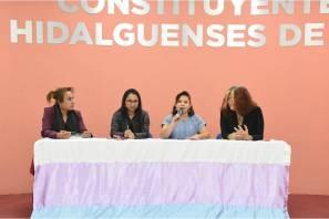 Reciben legisladoras morenistas propuesta de iniciativa de Ley de Identidad para el estado