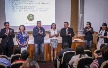 Se capacitan funcionarios municipales de Mineral de la Reforma en solución de controversias2