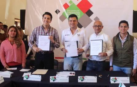 Sedeso- Contraloría y el IHJ firman convenio para generar parlamento juvenil3