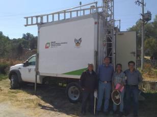 SEMARNATH instala Unidad de Monitoreo Atmosférico en Atotonilco de Tula 1