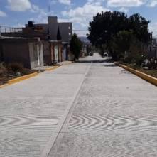 SOPOT finalizó trabajos de pavimentación de concreto hidráulico en avenida ruiseñor en Pachuca1