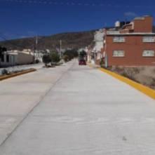SOPOT finalizó trabajos de pavimentación de concreto hidráulico en avenida ruiseñor en Pachuca2