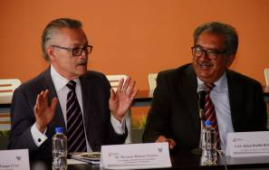 Titular de SEPH y el Coordinador General de Universidades Tecnológicas y Politécnicas encabezan reunión en Hidalgo 1