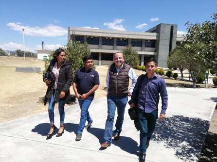 alcalde de almoloya visita ITESA
