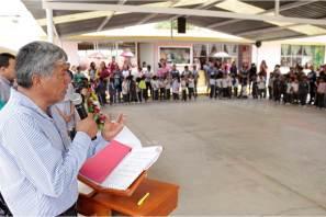 Alcalde de Tizayuca inaugura obras en el Jardín de Niños Bernal Díaz del Castillo3