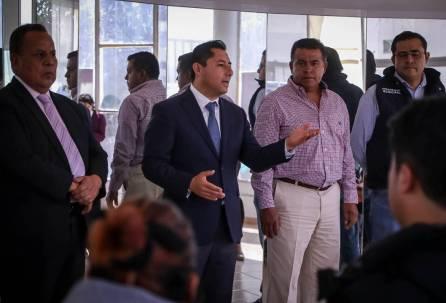 Alcalde Raúl Camacho da bienvenida a la administración municipal a 21 jóvenes 1