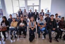 Alcalde Raúl Camacho da bienvenida a la administración municipal a 21 jóvenes 2