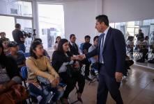 Alcalde Raúl Camacho da bienvenida a la administración municipal a 21 jóvenes 3