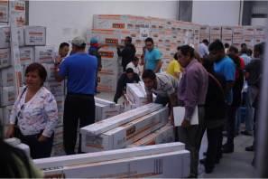 Beneficia alcalde Raúl Camacho a 417 familias con calentadores solares a bajo costo
