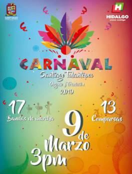 """Celebrarán 68° edición de Carnaval Santiago Tulantepec """"Orgullo y Tradición"""" 5"""