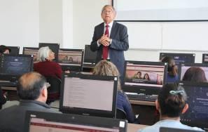 Comienzan docentes curso sobre recursos de información en biblioteca UAEH1