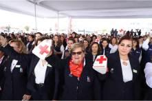 Con reconocimiento y gratitud por su labor altruista, Hidalgo se une a la colecta de la Cruz Roja 2019-4