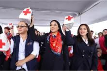 Con reconocimiento y gratitud por su labor altruista, Hidalgo se une a la colecta de la Cruz Roja 2019-5