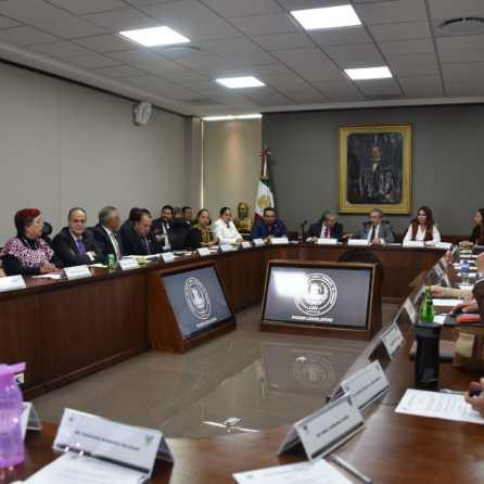 Congreso de Hidalgo sostendrá reuniones bilaterales en materia de seguridad con Gobierno del Estado