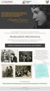 Conmemora Cultura Hidalgo 21 aniversario luctuoso de la escritora hidalguense Margarita Michelena