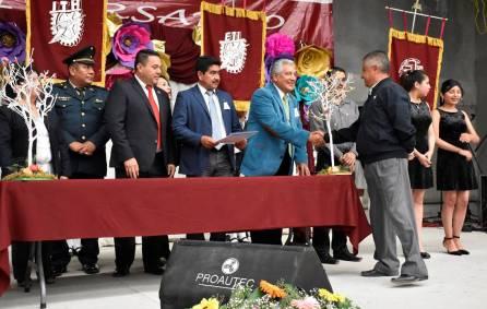 Conmemoran LXXXI aniversario de la Escuela Secundaria Técnica Número 1-1