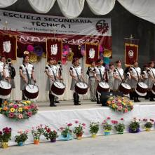 Conmemoran LXXXI aniversario de la Escuela Secundaria Técnica Número 1-2