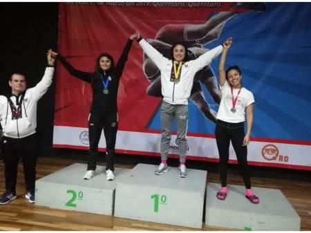 Conquistan gladiadores hidalguenses 8 medallas en Nacional de Luchas Asociadas