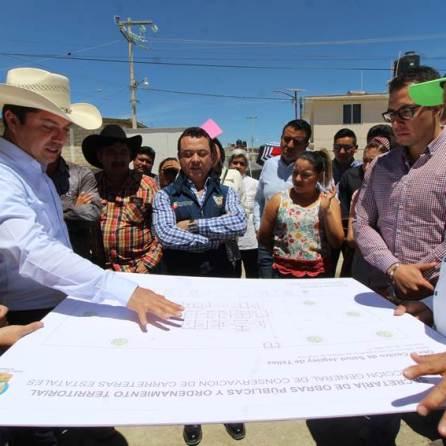 Constatan avances de obras en la comunidad de Jagüey de Téllez, municipio de Zempoala3