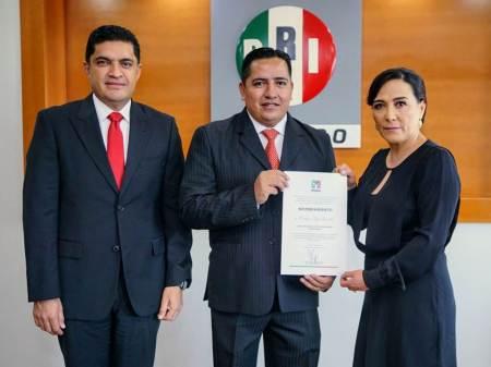 Enrique Rojas González nuevo secretario de Comunicación Institucional del CDE del PRI