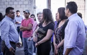 Entrega municipio ampliación de red de agua potable, drenaje sanitario y dren pluvial en Carboneras 1