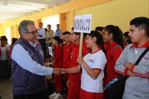 Estudiantes de Telebachillerato Comunitario participan en Encuentro Deportivo y Cultural en Molango1