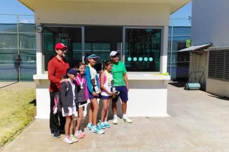 Hidalgo fue anfitrión del Torneo Seccional de Tenis Rumbo a Olimpiada Nacional