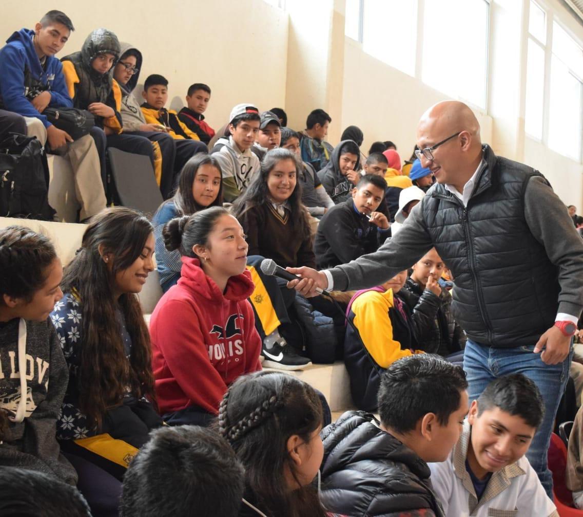 IHJ realiza gira de trabajo en centros educativos del municipio de Jacala2