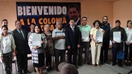 Impulsa Raúl Camacho certeza jurídica en la colonia Taxistas de Mineral de la Reforma 3