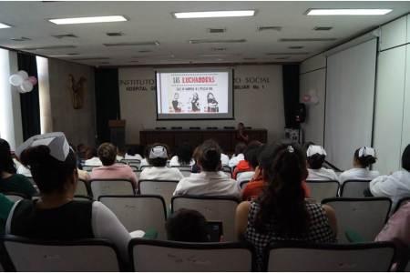 IMSS Hidalgo realiza actividades enfocados a la salud integral de la mujer