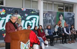 """Inauguran mural """"Visibilizar el trabajo de las mujeres""""1"""