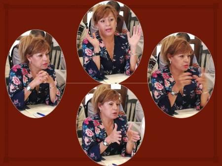 Irma Hernández Jiménez, aspirante a delegada en Hidalgo de Morena