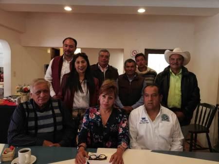 Irma Hernández Jiménez, aspirante a delegada en Hidalgo de Morena2