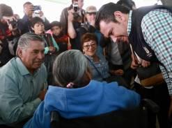 Israel Félix entrega y gestiona apoyos para vecinos del Poniente de Pachuca2