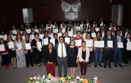 ITESA certificó asesores de educación básica en el estándar EC 0 217 -4