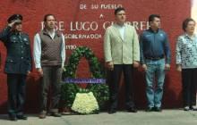 Jiménez Rojo encabeza homenaje a ex gobernador José Lugo Guerrero 2