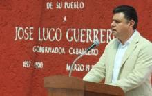 Jiménez Rojo encabeza homenaje a ex gobernador José Lugo Guerrero 3