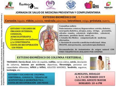 Jornada de Salud Medica Preventiva en Almoloya