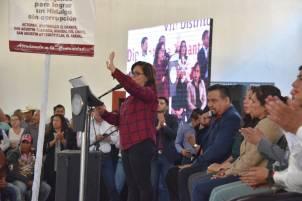 La diputada Tatiana Ángeles presenta primer informe de labores legislativas2