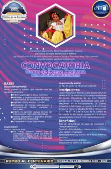 Mineral de la Reforma convoca a integrar Grupo de Danza Mexicana 3