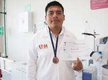 Obtiene alumno de Prepa 1 bronce en Olimpiada Nacional de Química1