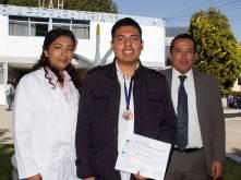 Obtiene alumno de Prepa 1 bronce en Olimpiada Nacional de Química2