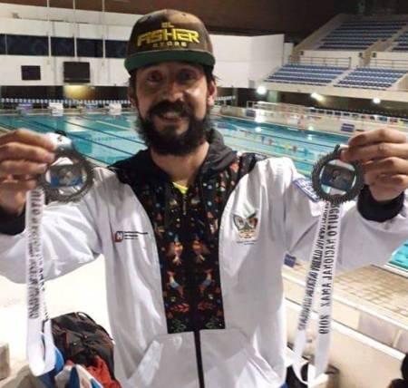 Obtiene Pedro Abel contreras pase al Campeonato Mundial de Natación Máster